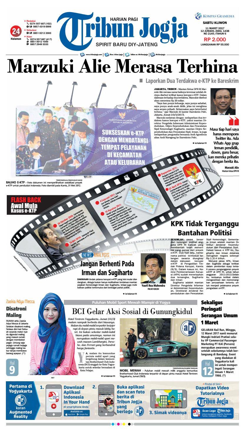 Tribunjogja 11 03 2017 By Tribun Jogja Issuu Produk Ukm Bumn Bakso Ikan Tuna Khas Ambon