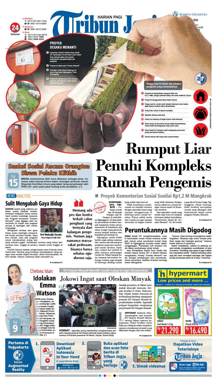 Tribunjogja 17 03 2017 By Tribun Jogja Issuu Produk Ukm Bumn Pusaka Coffee 15 Pcs Kopi Herbal Nusantara Free Ongkir Depok Ampamp Jakarta