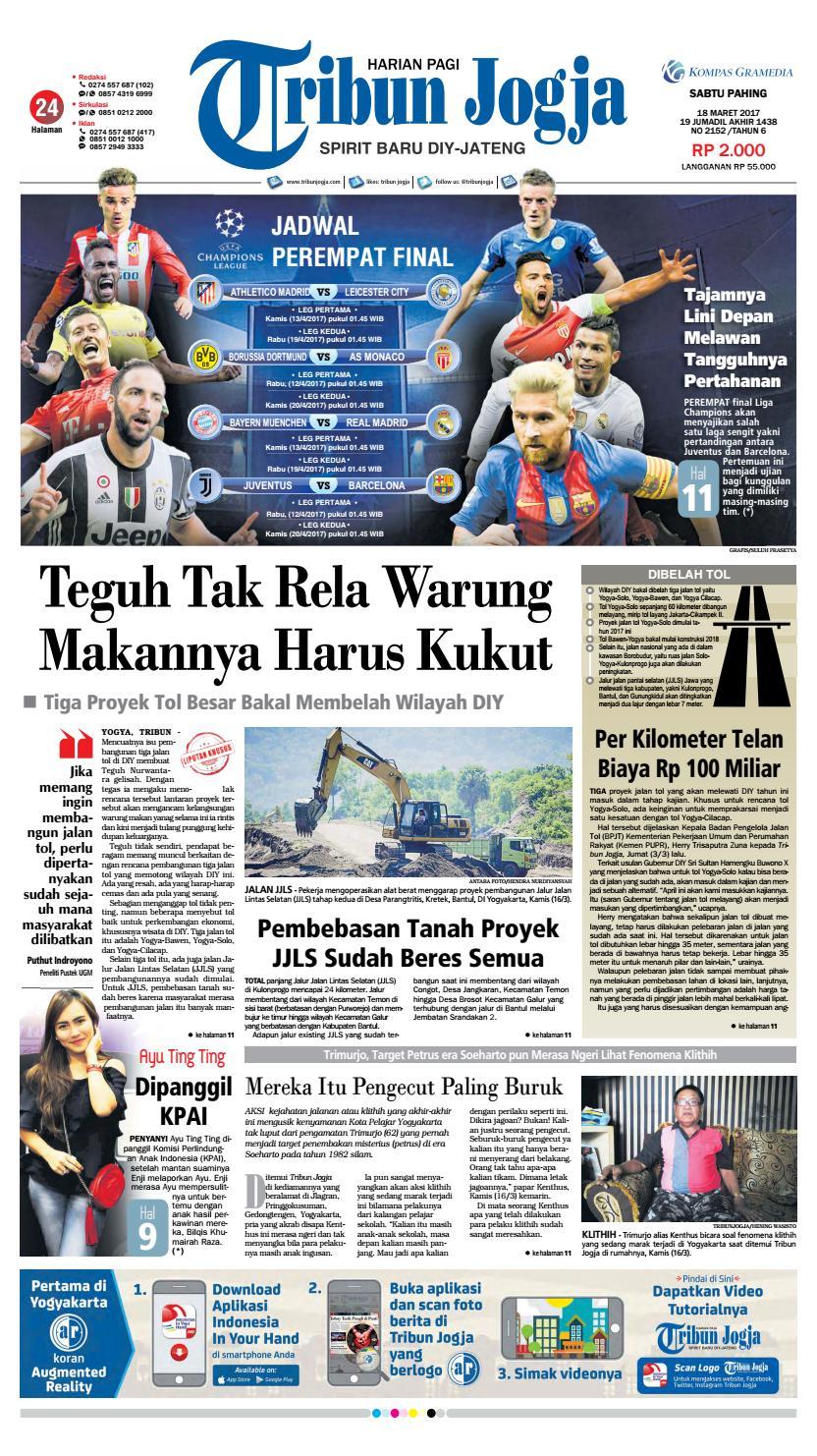 Tribunjogja 18-03-2017 by tribun jogja - issuu
