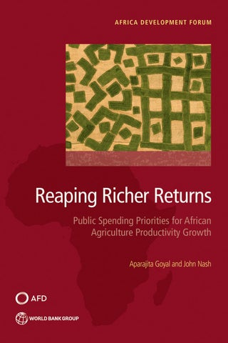 Reaping Richer Returns By World Bank Publications Issuu