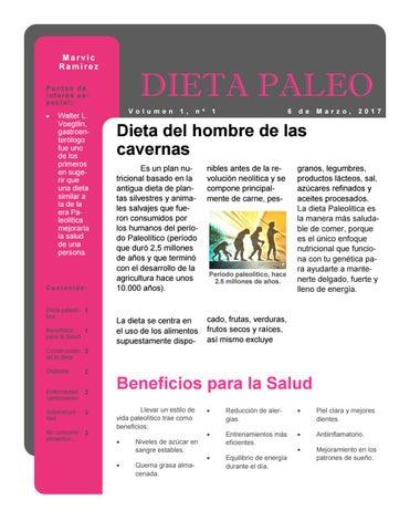 beneficios del plan de dieta paleolitica