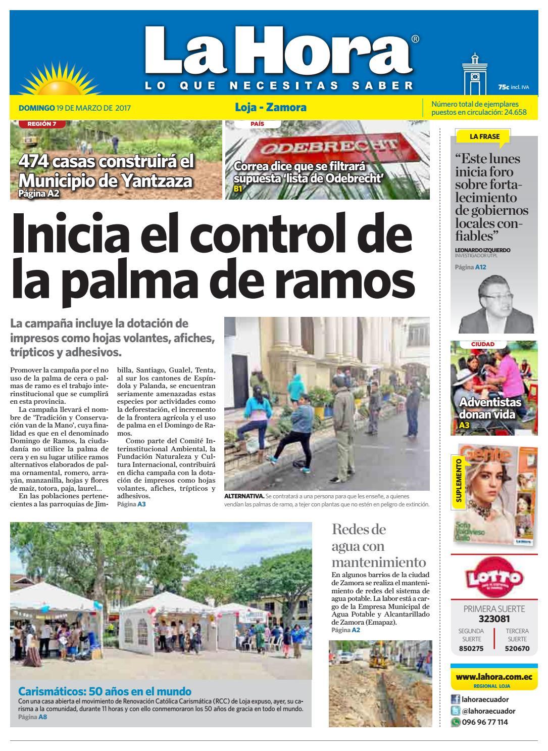 7f206c55d3880 Diario La Hora Loja 19 de Marzo 2017 by Diario La Hora Ecuador - issuu