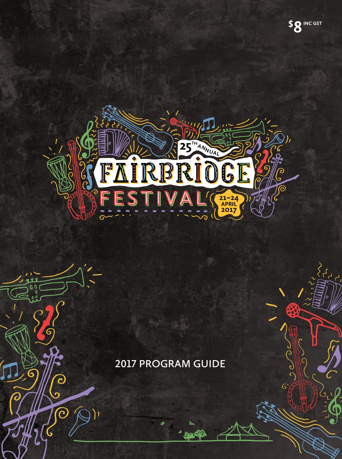 Language In 45 And 47 Stella Street: 2017 Fairbridge Festival Program Guide By TAD Graphics