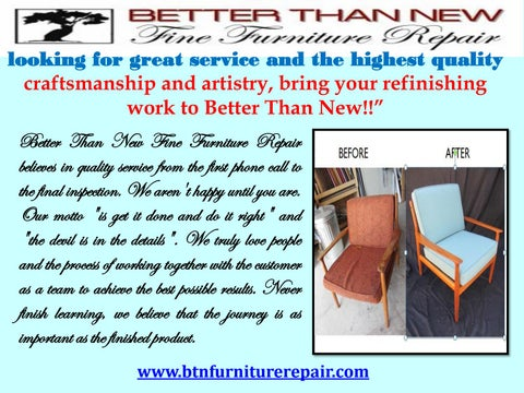 Superieur Furniture Repair Scottsdale | Better Than New By Dan ...