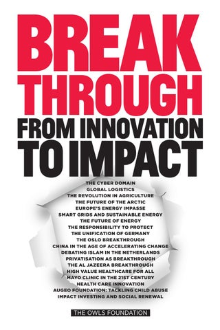 29f45e5e687 Breakthrough  From Innovation to Impact by The Owls Foundation - issuu