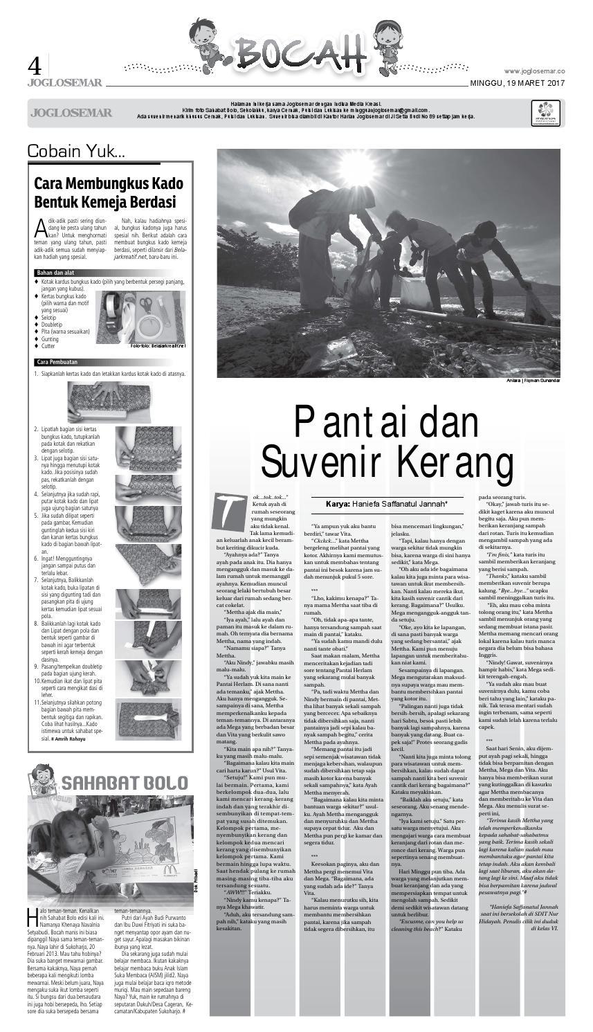 E Paper 19 Maret 2017 By PT Joglosemar Prima Media Issuu