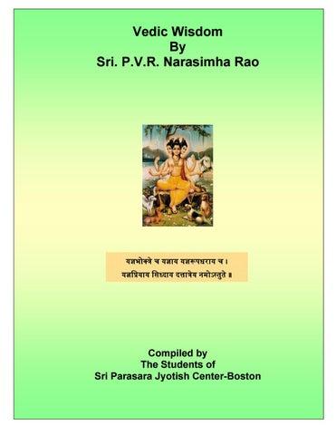 Vedic wisdom by Haranath Penumur - issuu