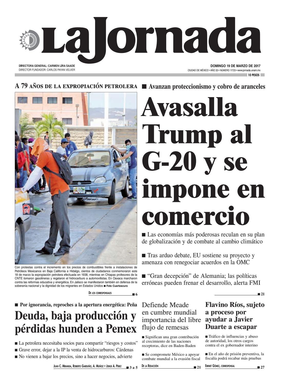 Aberraciones Xexuales En Carceles Porno la jornada, 03/19/2017la jornada - issuu