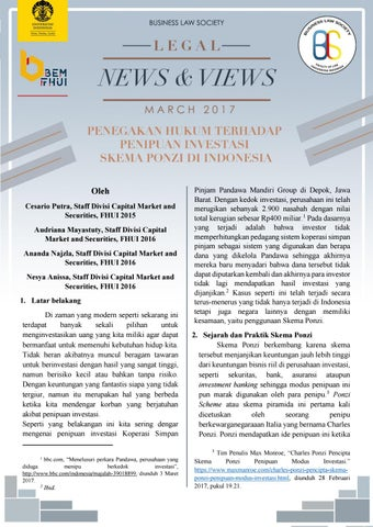 Legal News And Views By Business Law Society Fhui Issuu