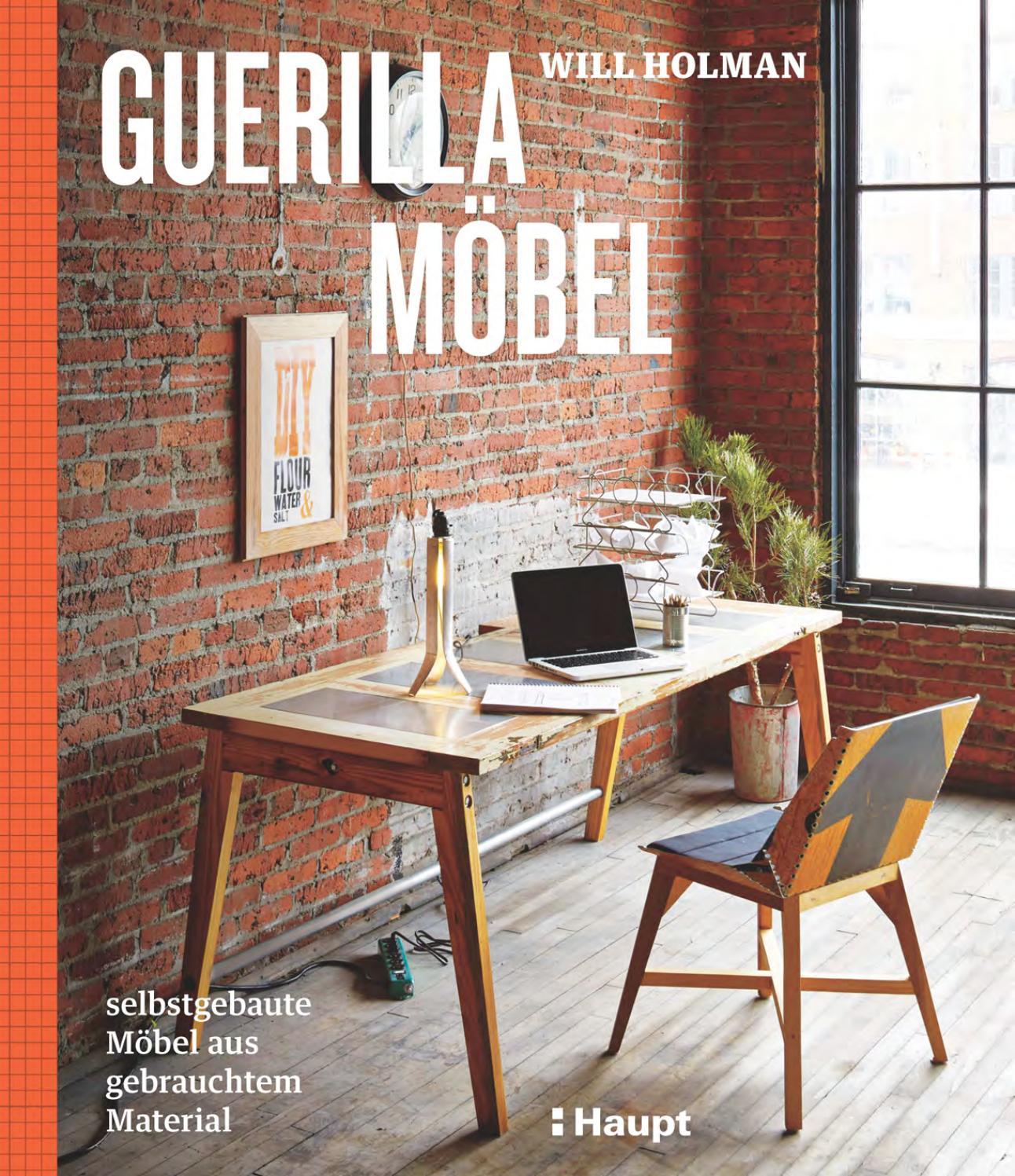 Holman, Guerilla-Möbel by Haupt Verlag - issuu