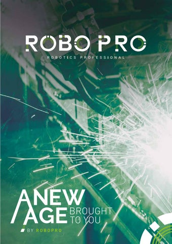 ROBOpro - Issue 1 - March by Clifton Media Lab - issuu