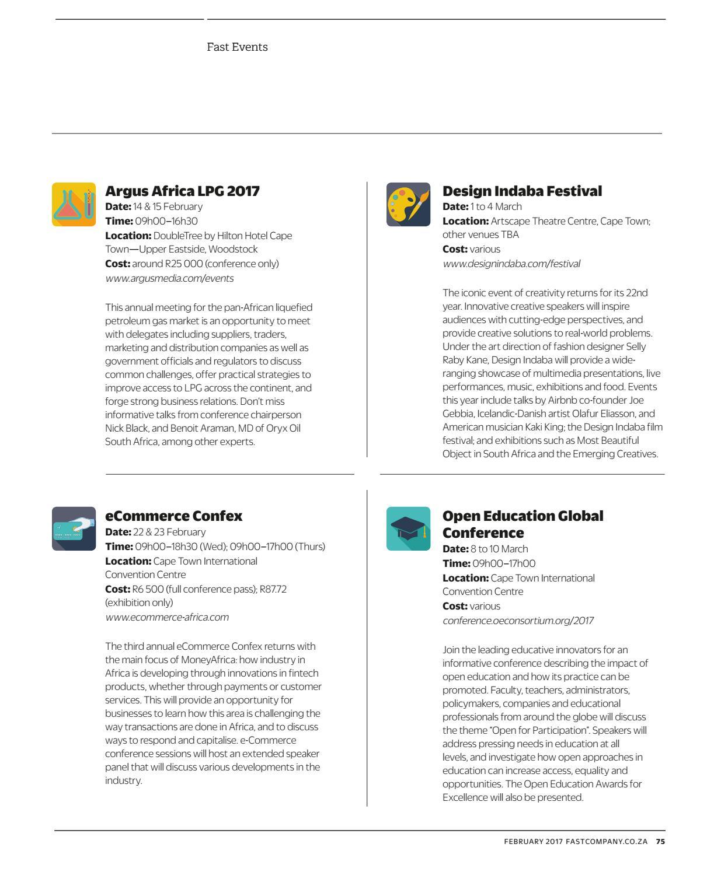 Fast Company SA - February 2017 issue 23