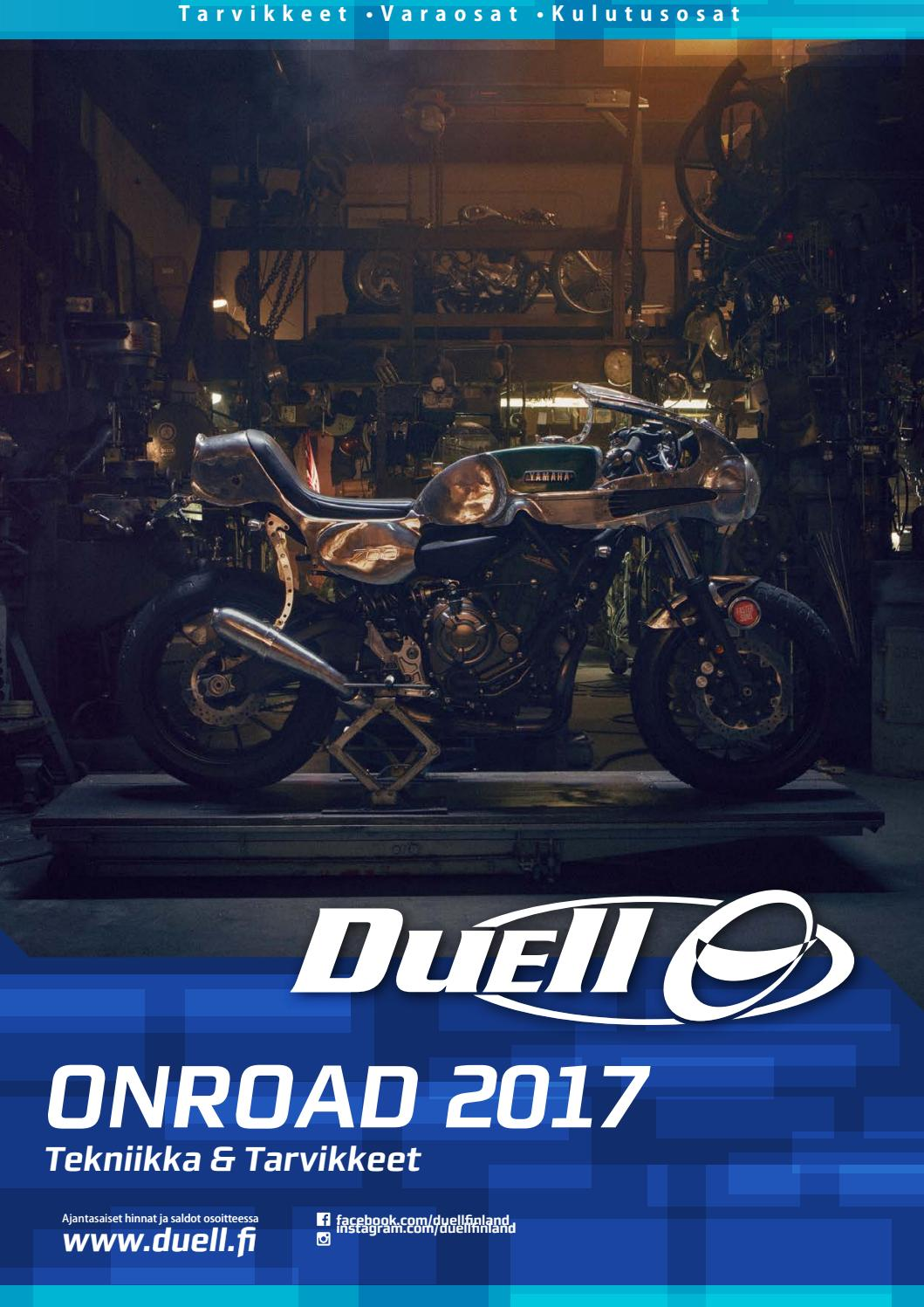Onroad Tekniikka Tarvikkeet 2017 By Duell Bike Center Oy Issuu Switch Wire Fuse Battery Terminals And Mounting Hardware 30204
