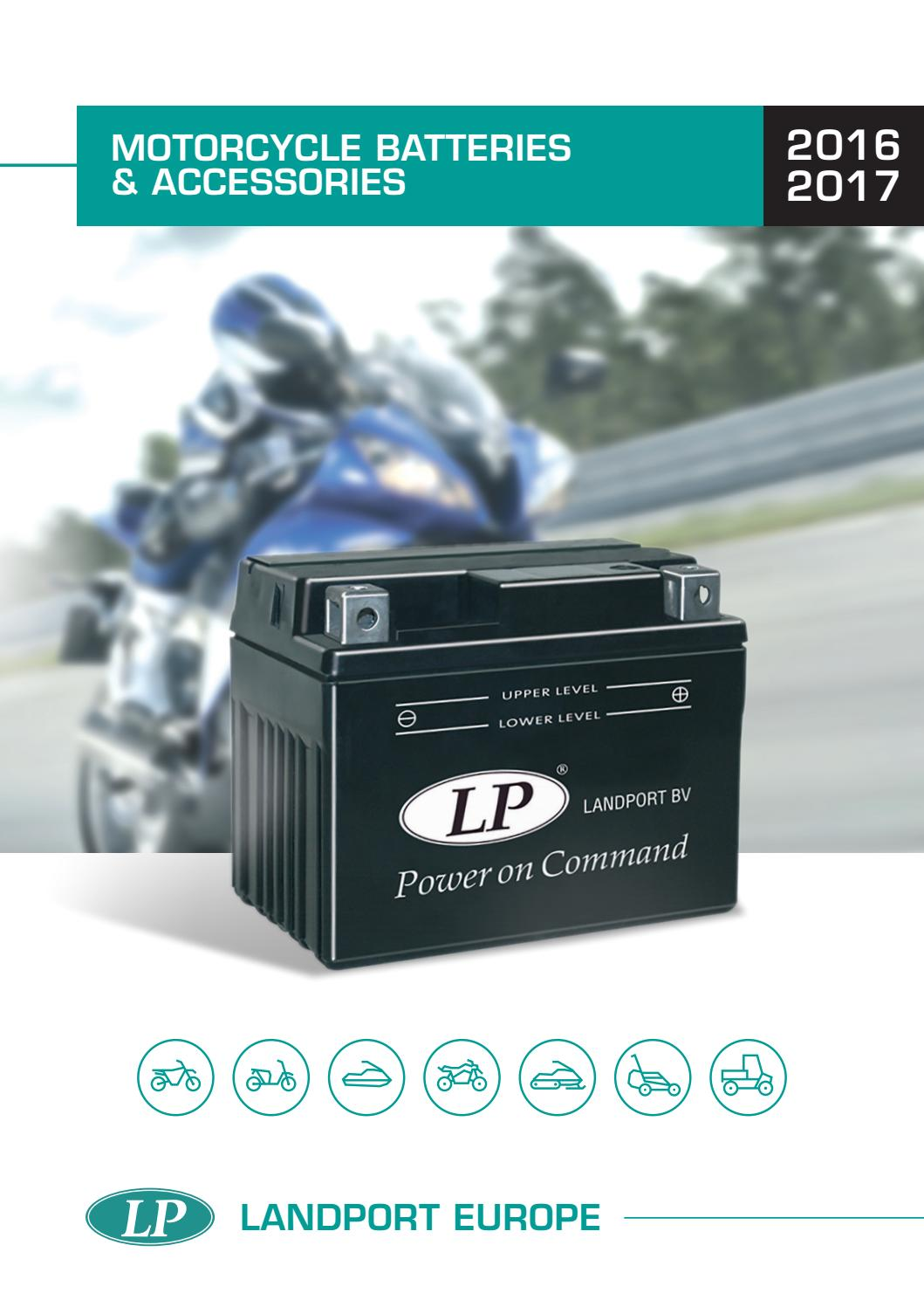 Landport motorcycle batteries issuu by At-oprema - issuu