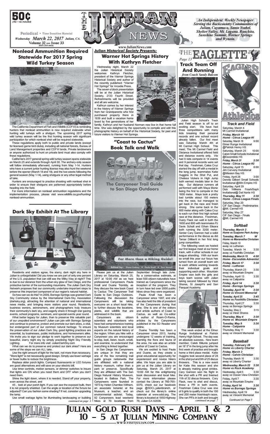 Juliannews 32 33 by Julian News - issuu