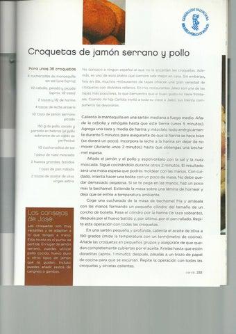 Recetas Libro Los Fogones De Jose Andrés By Isa Qk Jara