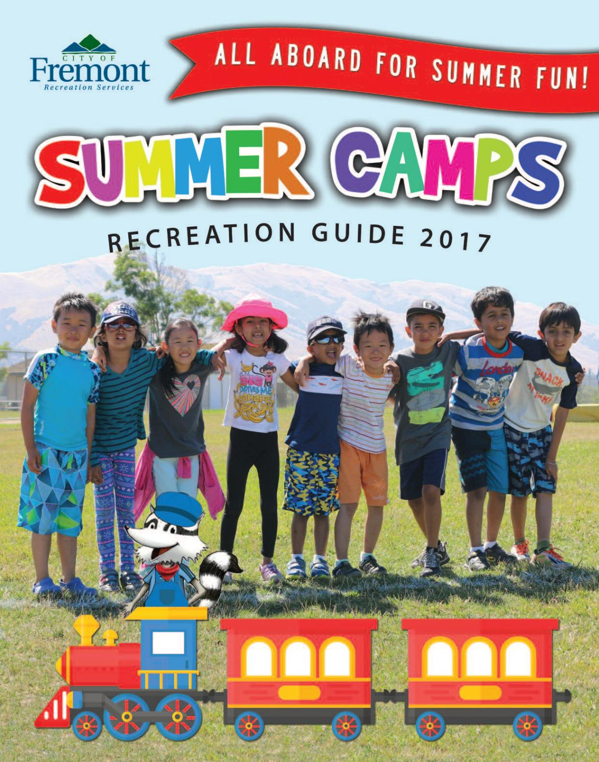 Summer camps recreation guide 2017 by city of fremont for Academie de cuisine summer camp