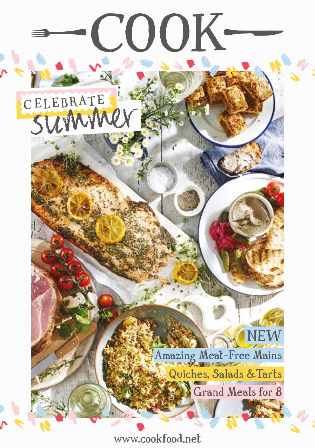 Cook Summer Menu Issuu By Cook Issuu