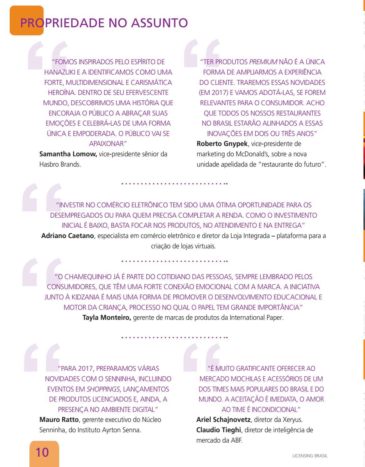 Revista Licensing Brasil #53 by EP Grupo – Agência de Conteúdo - issuu
