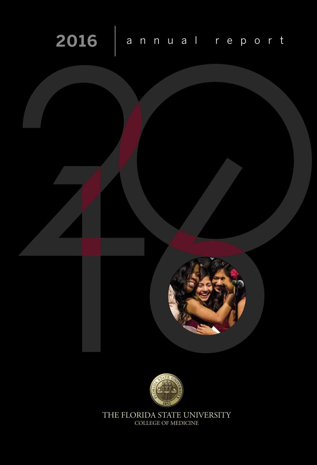2016 annual report - Florida State University College of