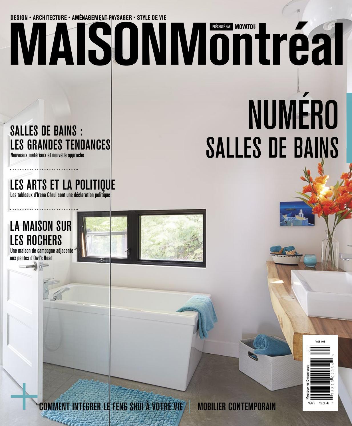 Petit Rangement Mural Salle De Bain ~ Maison Montr Al Num Ro Salles De Bains 2016 2017 By Movatohome
