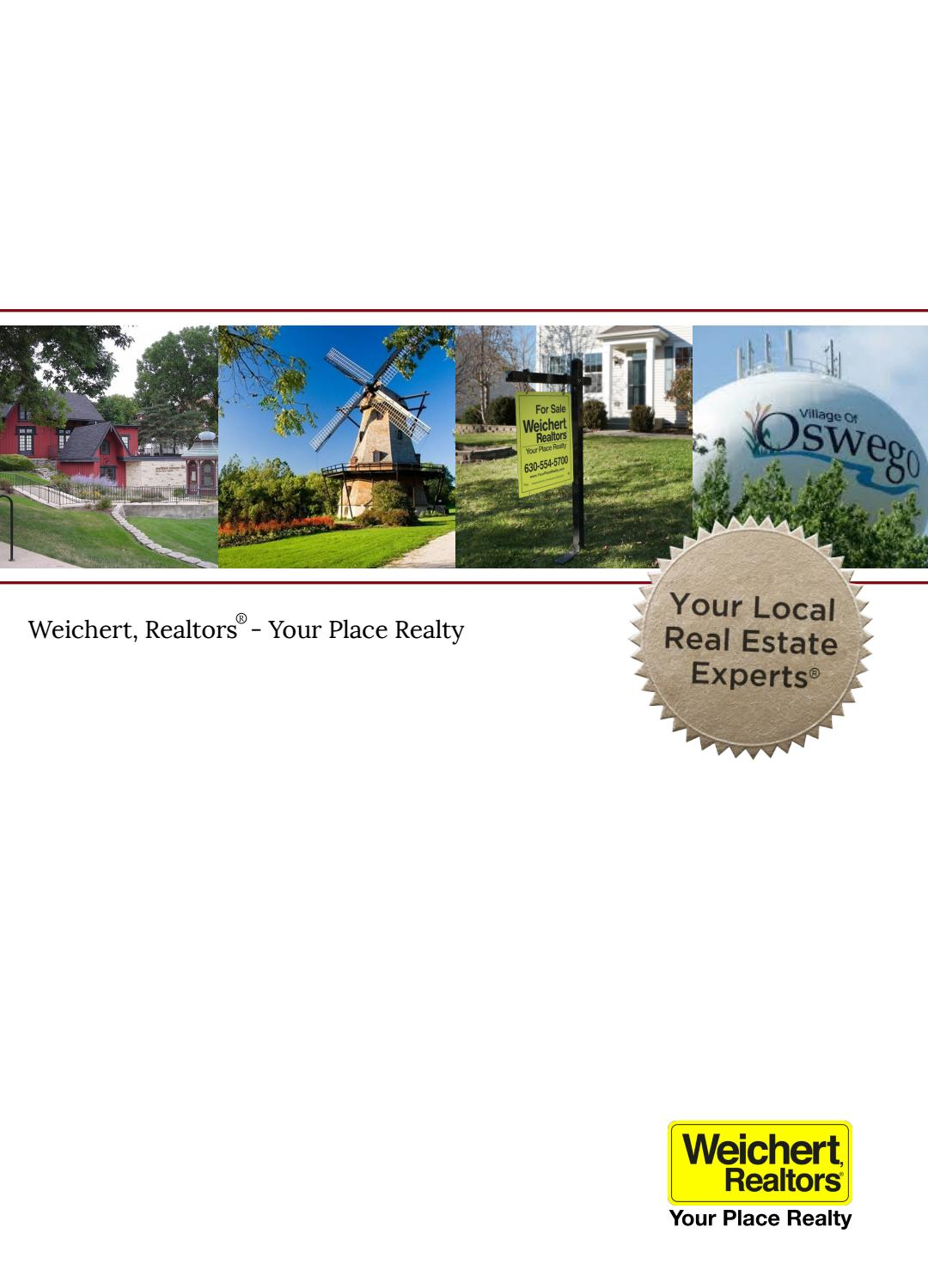 Doors Listing Presentation by WEICHERT, REALTORS - Your Place Realty