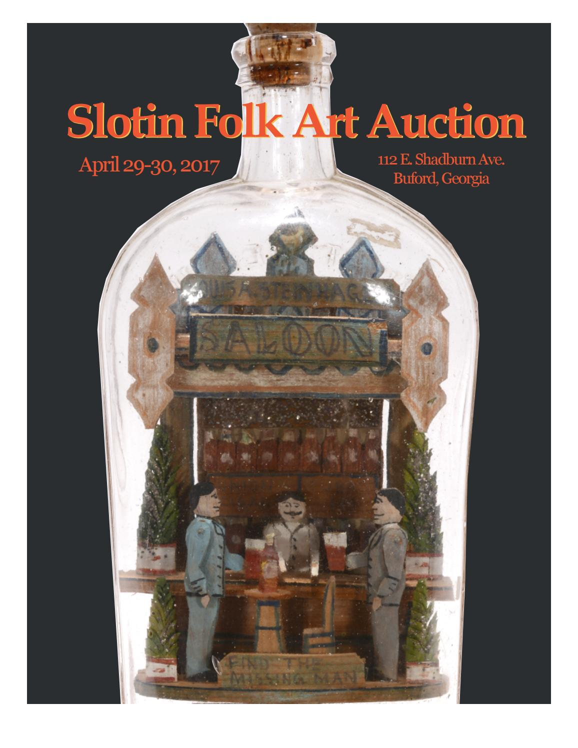 Slotin Folk Art Auction Catalog Spring 2017 By Issuu Rider Oblong R 222 B