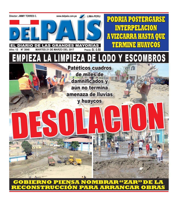 Edicion Impresa 21 De Marzo Del 2017 By Diario Del Pais El