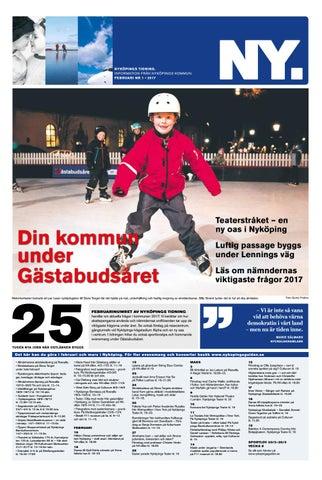 Nyköpings Tidning Nr 1 2017 By Nyköpings Kommun Issuu