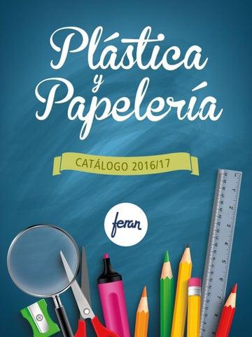 3e59b2b0567 Catálogo de Plástica y Papelería Feran 2016 17 by Distribuciones ...