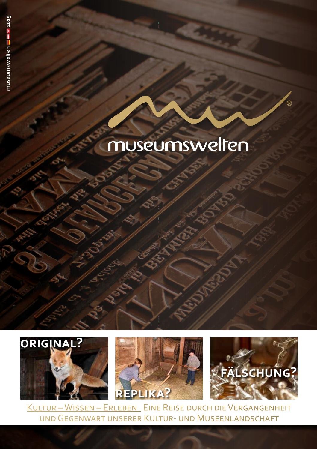 2015 Museumswelten Magazin By Marcoconsulting Issuu