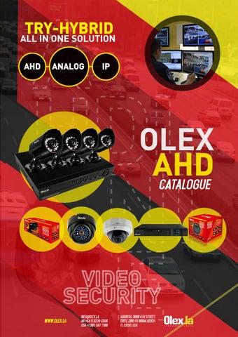 Catálogo Olex AHD by Olex la / Visionxip - issuu