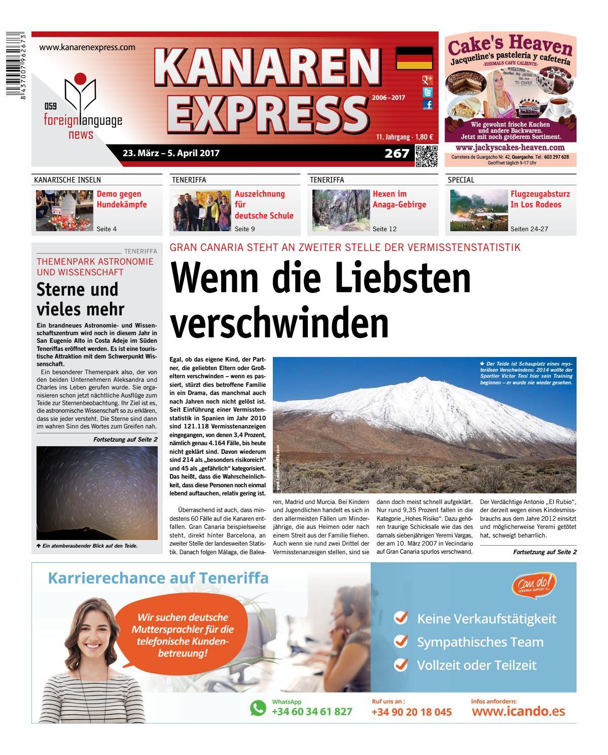 Kanaren Express 267 FLN 59 by Island Connections Media Group - issuu