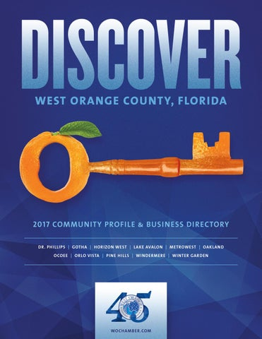 Discover West Orange County | West Orange Chamber of Commerce
