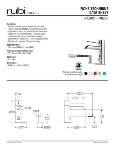 Tkr22d 6 Fiche Technique Data Sheet By Rubi Soligo 2 Issuu