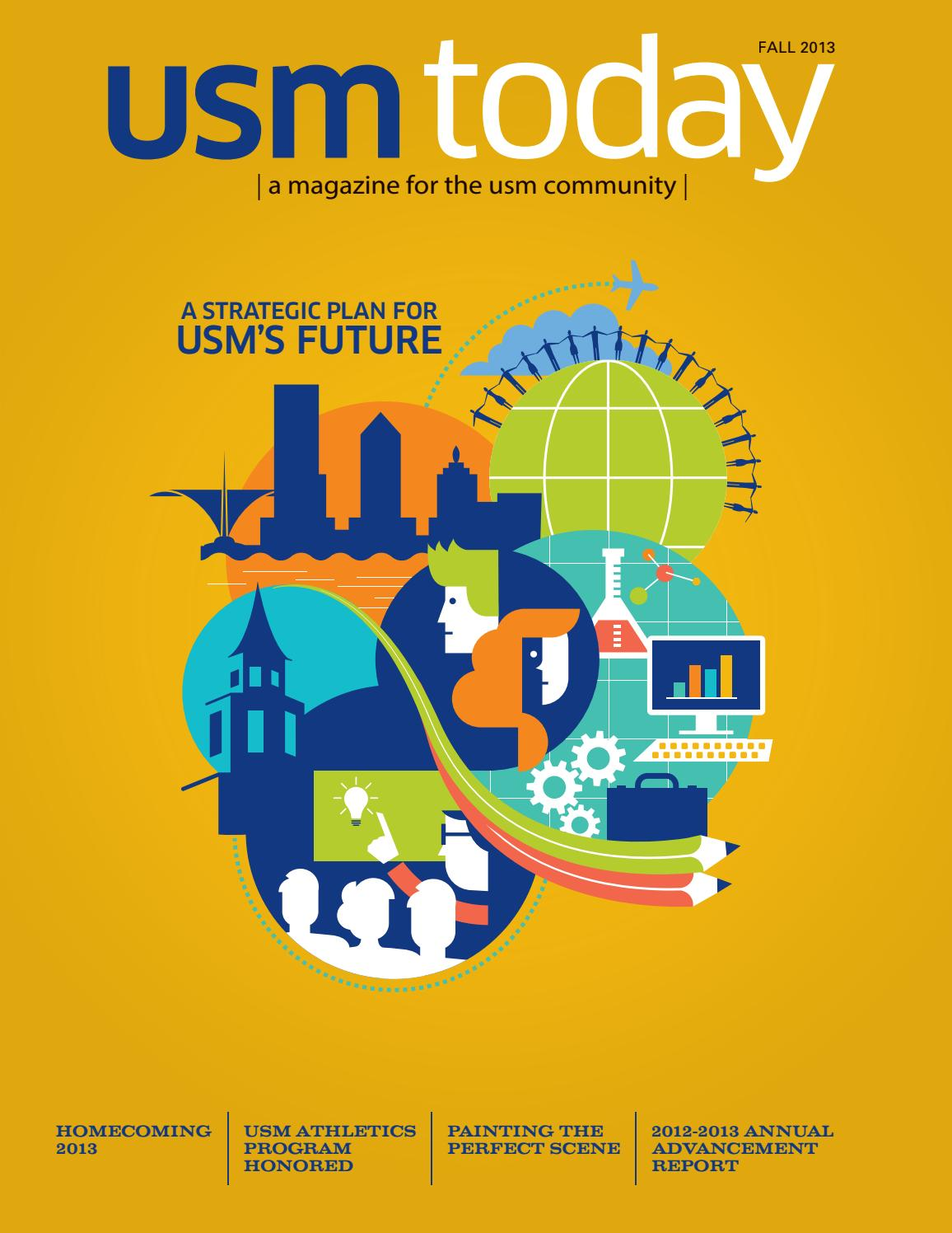 Usm today fall 2013 by university school issuu fandeluxe Choice Image