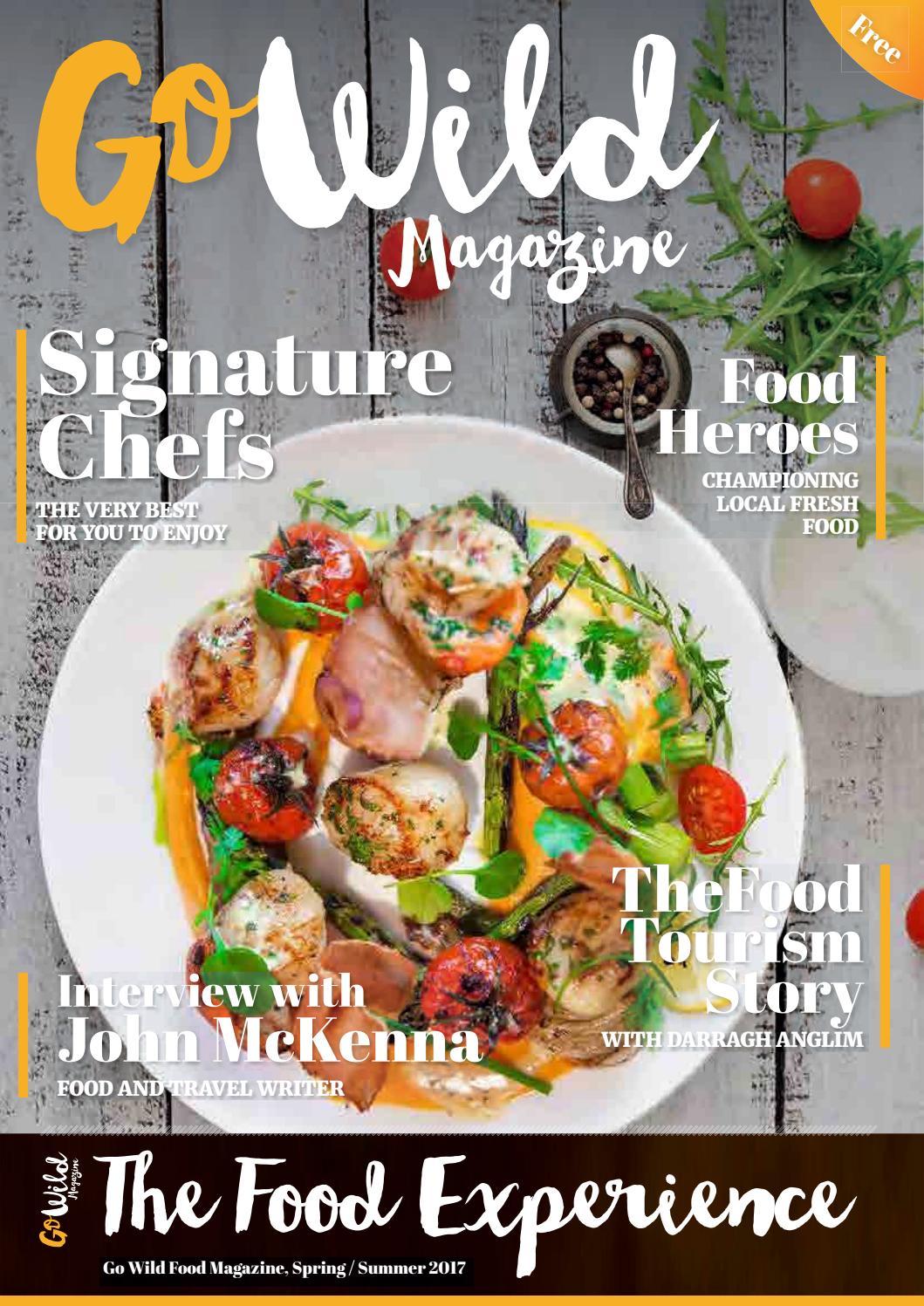 Go wild the food experience magazine 2017 by Go Wild