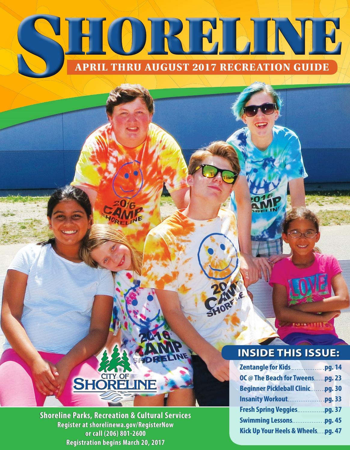 5c05cf9ee90d Shoreline spring summer recreation guide 2017 by City of Shoreline ...