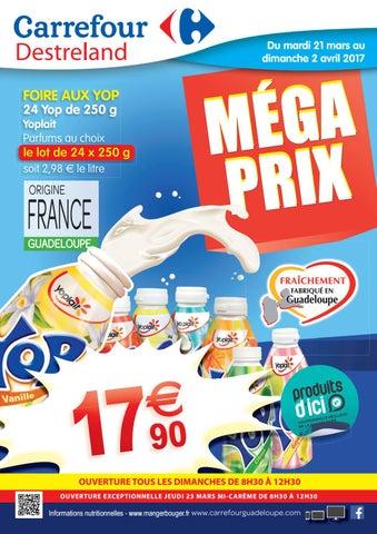 Carrefour Destreland Mega Prix Du 21 Mars Au 02 Avril