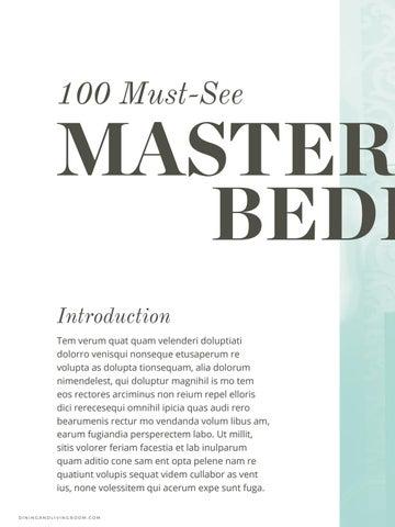 Master Bedroom Ideas Free Ebook By Boca Do Lobo   Issuu