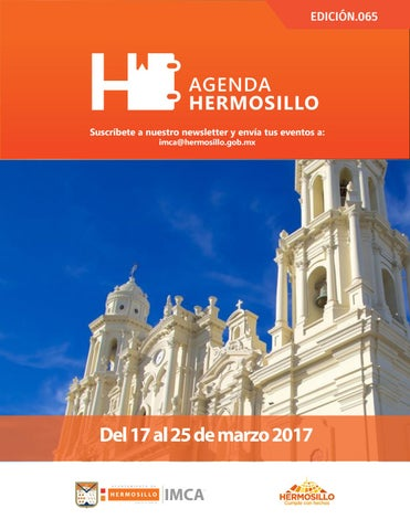 "Cover of ""Agenda Hermosillo 17 mar 2017"""