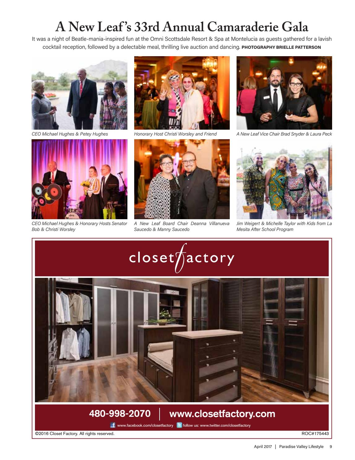 Paradise Valley April 2017 By Lifestyle Publications   Issuu