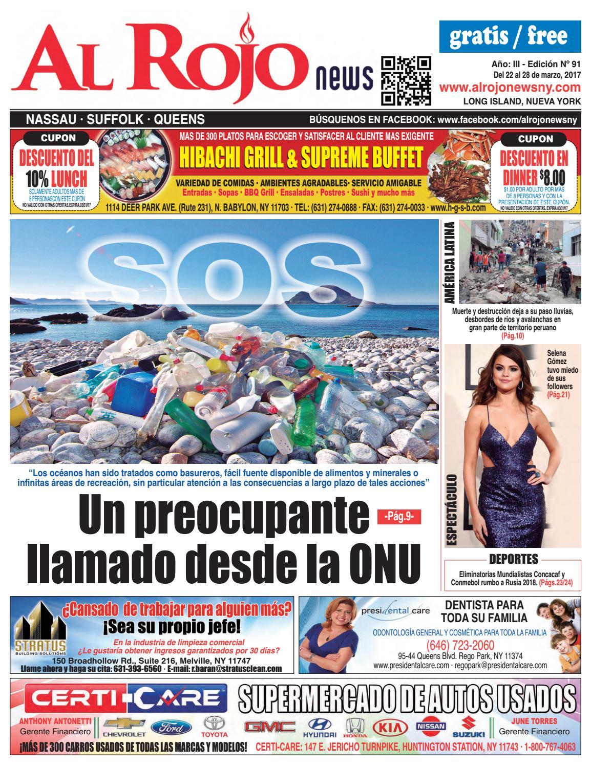 Al Rojo News año III edición 91 by Jose Rivas - issuu