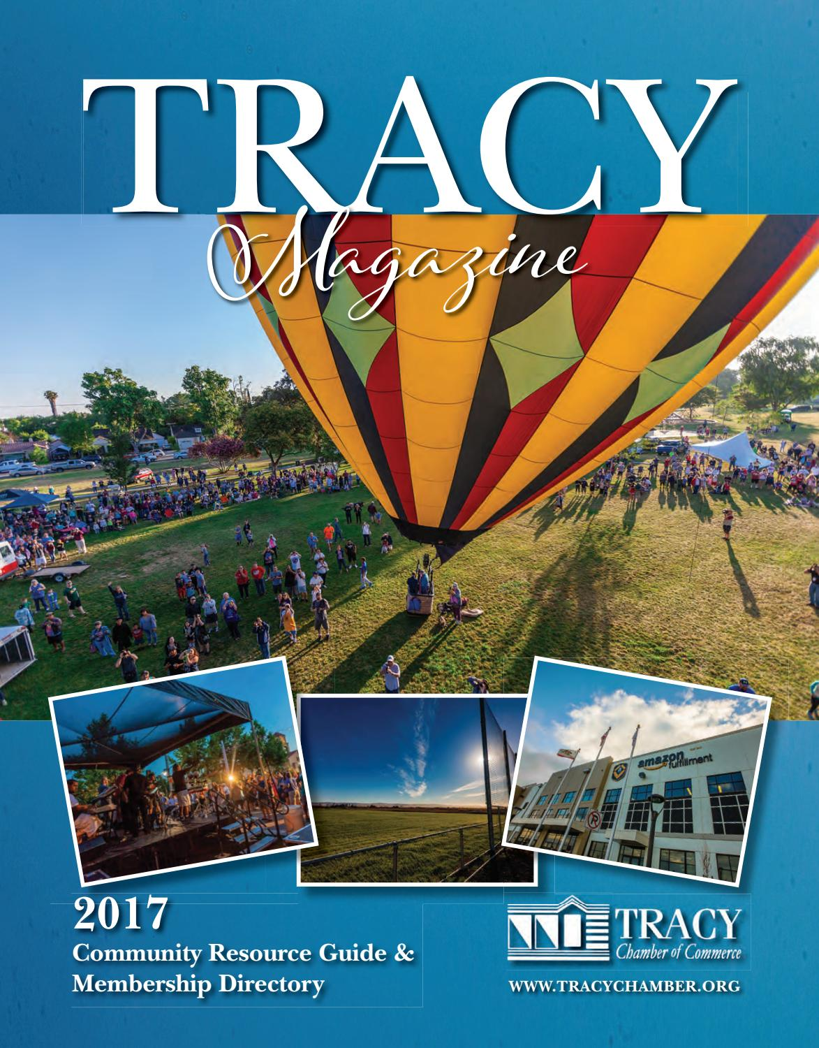 Tracy Ca Community Profile 2017 By Town Square Publications Llc