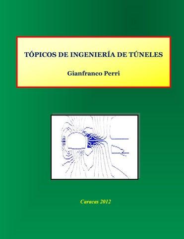 Tópicos de Ingeniería de Túneles by Gianfranco Perri - issuu