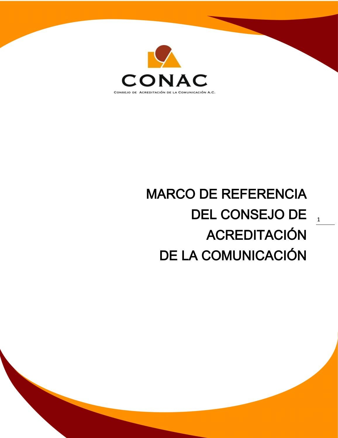 Marco de referencia conac by GACURI7 - issuu