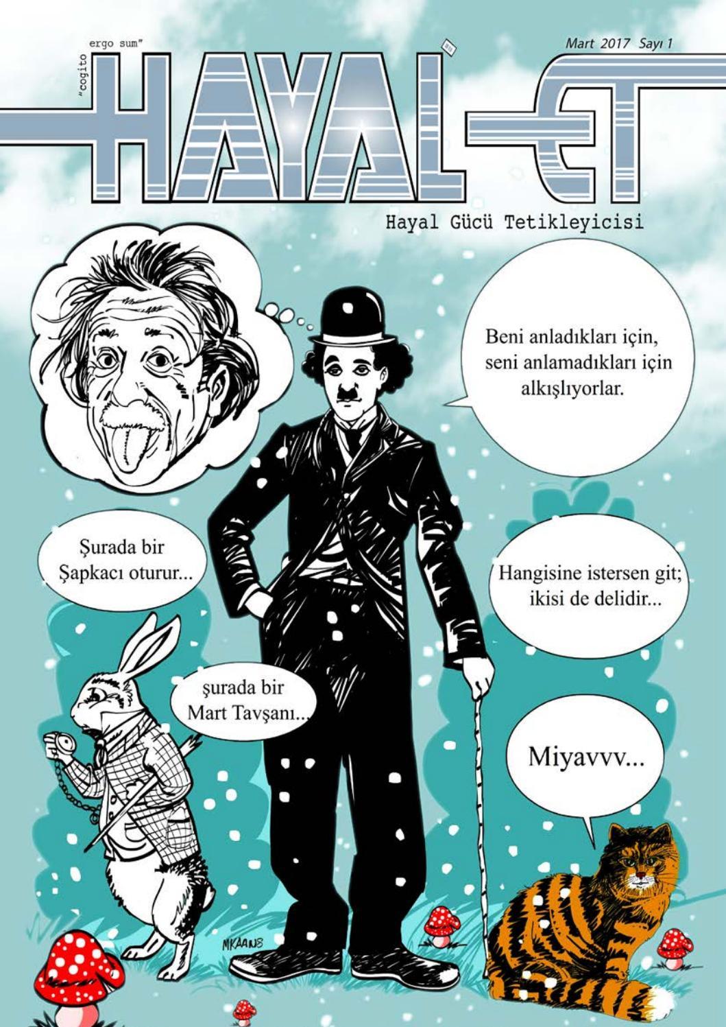 Hayalet E Dergi Mart 2017 Sayi 01 By Hayalet E Dergi Issuu