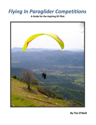 Paragliding competitions guide