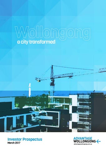 investor prospectus Advantage Wollongong Investor Prospectus by Wollongong City Council ...