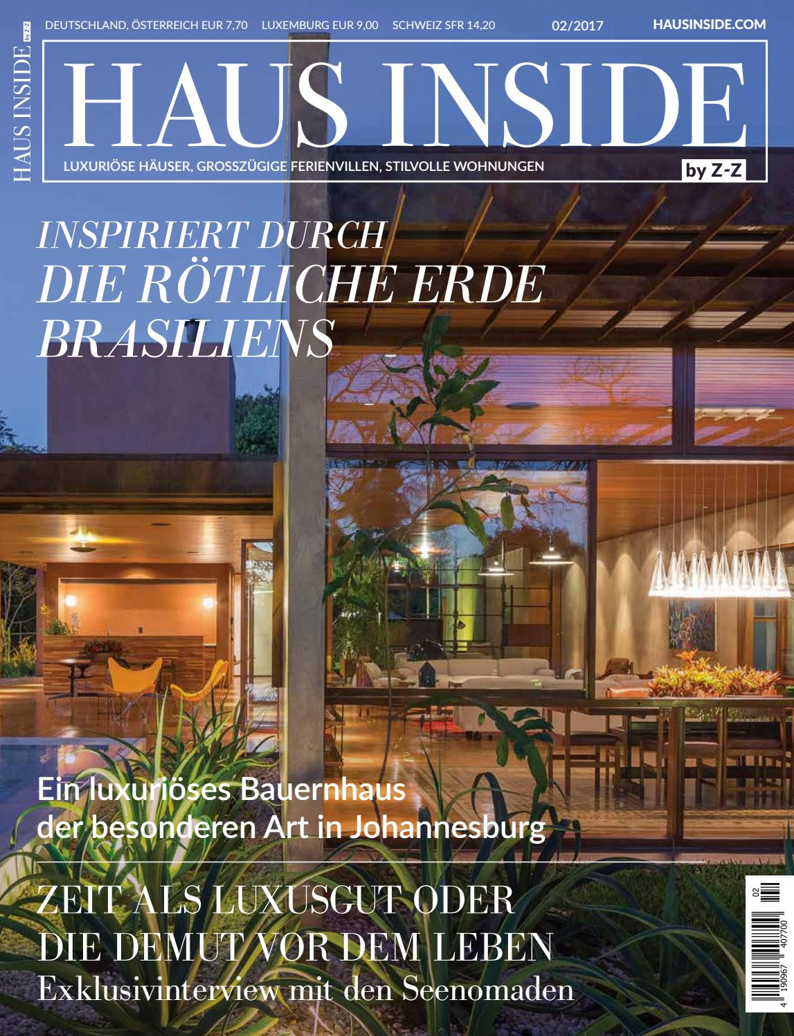 HAUS INSIDE by Z-Z 2/2017 by HAUS INSIDE - issuu
